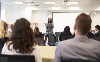 Presentations & public speaking – Getting over the fear